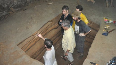 Các nhà khoa học tìm thấy những mẫu trầm tích từ các vụ sóng thần