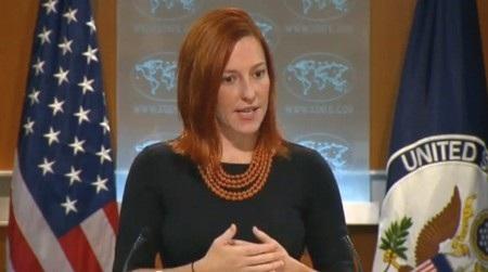 Người phát ngôn Bộ ngoại giao Mỹ Jen Psaki.