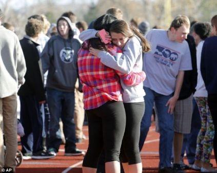 Vụ xả súng khiến nhiều học sinh hoảng sợ