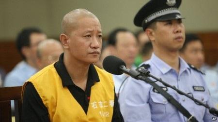 Nghi can Lu trong phiên xét xử tại tòa