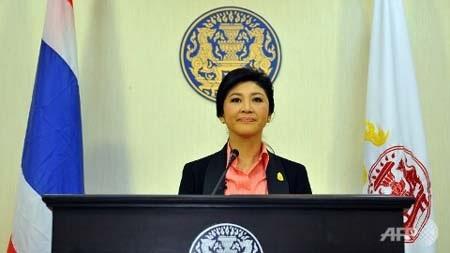 Thủ tướng Yingluck Shinawatra đang chịu nhiều áp lực