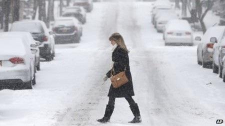 Tuyết đã bắt đầu phủ trắng vùng New England từ chiều qua
