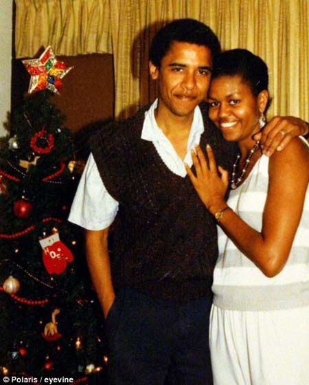 Barack Obama và Michelle kết hôn năm 1992