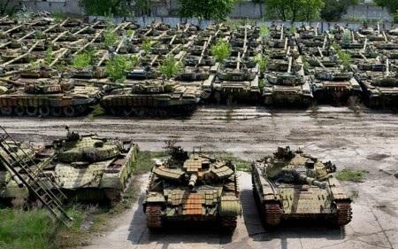 Khí tài của quân đội Ukraine hầu hết lạc hậu