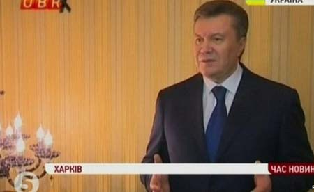 Ông Viktor Yanukovych trong đoạn băng được phát trong ngày 22/2