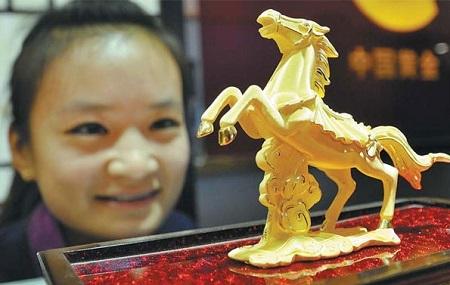 Giá vàng đã tăng mạnh từ đầu năm