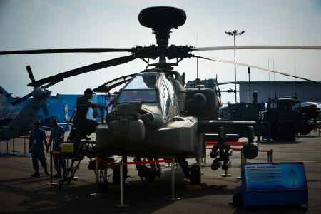 Trực thăng chiến đấu Apache AH nổi tiếng của hãng Boeing