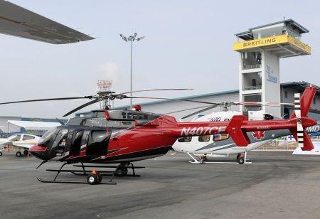 Mẫu trực thăng Bell 407 của hãng máy bay Mỹ