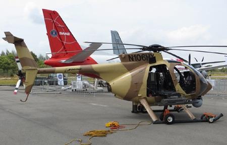 Đại gia MỹBoeing mang tới chiếc AH-6-N106HX