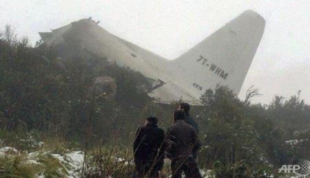 Chiếc C-130 bị rơi do điều kiện thời tiết xấu