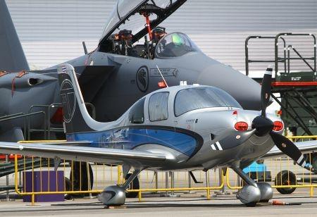 Cũng thuộc dòng một động cơ cánh quạt, hãng máy bay Mỹ