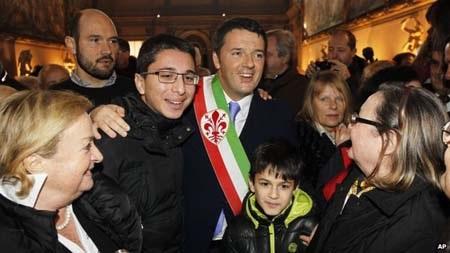 Ông Matteo Renzi sẽ là thủ tướng trẻ nhất nước Ý