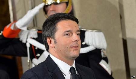 Ông Matteo Renzi trở thành thủ tướng trẻ nhất lịch sử nước Ý