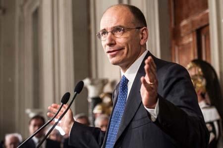 Thủ tướng Ý Letta đã từ chức