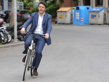 Ông Renzi được xem là người lôi cuốn và hoàn toàn mới mẻ