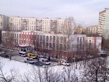 Toàn cảnh ngôi trường nhìn từ trên cao