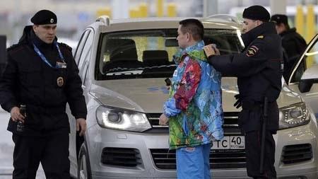 Trong dịp Olympic cảnh sát Nga có thể kiểm tra đột xuất bất kỳ ai