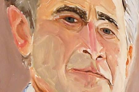 Chân dung tự họa của ông Bush