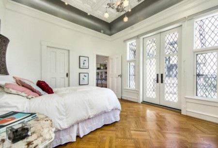 Phòng ngủ với gam màu dịu mát