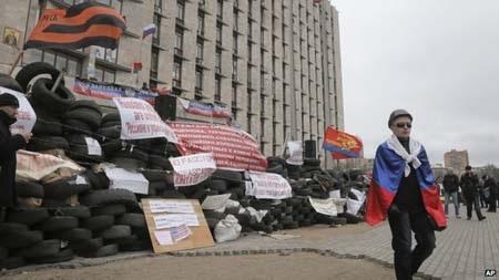 Kinh tế Ukraine ngày càng bất ổn vì căng thẳng chính trị