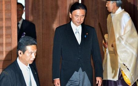 Ông Keiji Furuya trong lần tới Yasukuni năm 2013