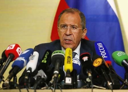 Ông Lavrov mạnh mẽ cảnh báo Ukraine và phương Tây