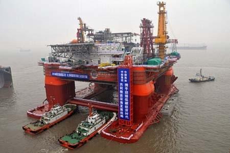Giàn khoan Hải Dương -981 của Trung Quốc có chi phí đóng gần 1 tỷ USD