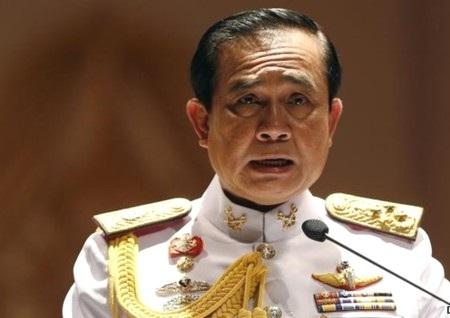 Tư lệnh lục quân Thái Lan Prayut Chan-O-Cha