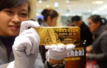 Nhiều giao dịch vàng tại Trung Quốc chỉ là giả mạo để vay vốn ngân hàng