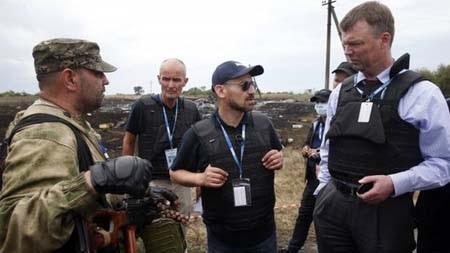 Các tay súng ly khai tại Ukraine luôn hạn chế các quan sát viên quốc tế tiếp cận hiện trường