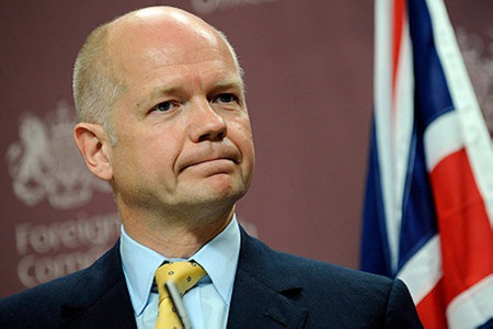 Ngoại trưởng Anh William Hague