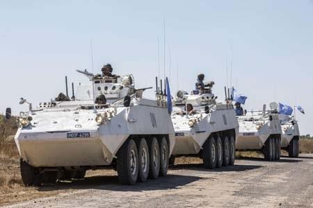 Lực lượng gìn giữ hòa bình Liên Hợp Quốc tại Syria đang bị tấn công