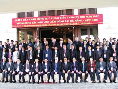 Tham dự Hội nghị có đại biểu 19 quốc gia, vùng lãnh thổ thành viên khu vực nhóm công tác Viễn Đông