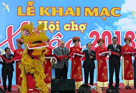 Hội chợ Xuân Đà Nẵng 2013 vừa khai mạc ngày 29/1