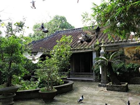 Một góc nhà cổ Tích Thiện Đường ở Túy Loan