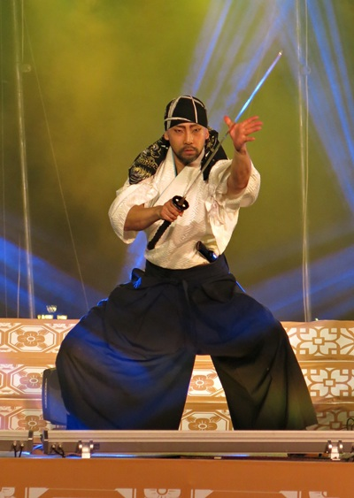 Màn trình diễn kiếm thuật đặc sắc lần đầu được mang đến lễ hội
