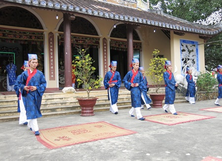 Lễ hội đình làng Hòa Mỹ Xuân Giáp Ngọ với các nghi thức truyền thống