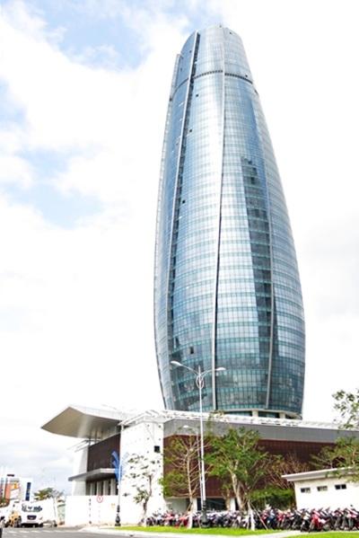 Thiết kế công trình lấy ý tưởng một ngọn hải đăng dẫn đường.