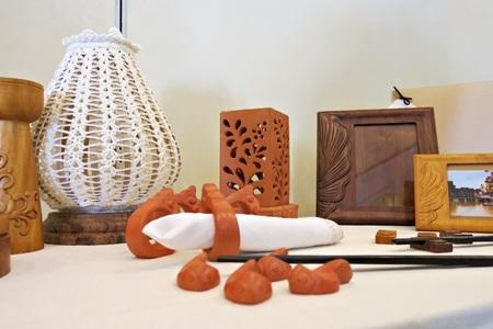 Gốm đỏ ở Duy Xuyên, nơi có Thánh địa Mỹ Sơn cũng là sản phẩm thủ công có tiếng của Quảng Nam