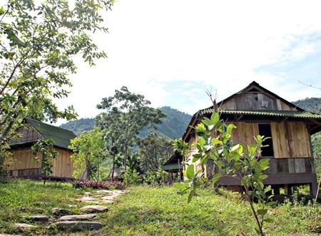 Đời sống yên bình giữa thiên nhiên kỳ vĩ ở làng du lịch Tống Cóoi