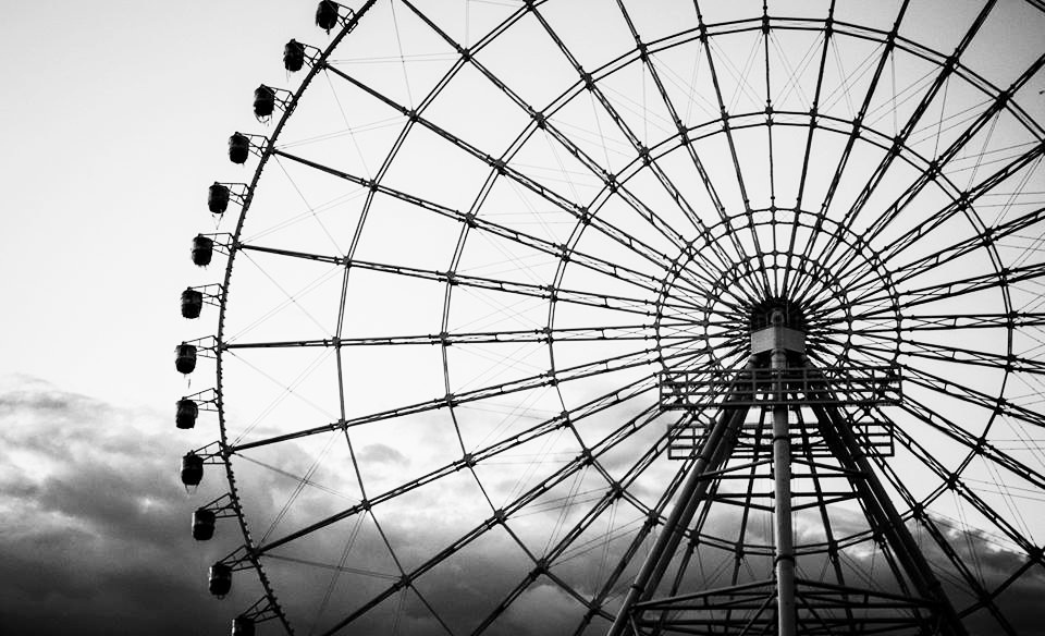 Vòng quay Mặt trời - Sun Wheel là hạng mục