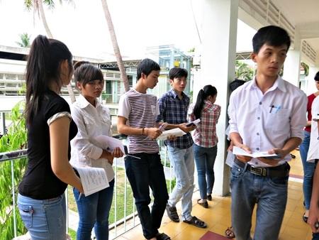 Thí sinh thi vào ĐH Đà Nẵng năm 2014