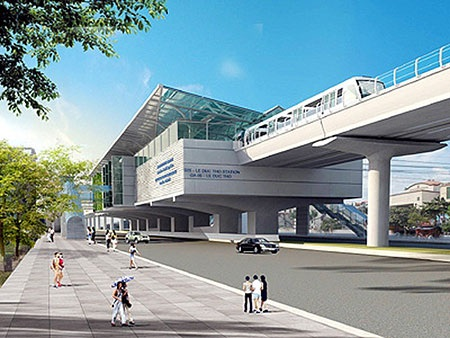 Khởi công tuyến đường sắt đô thị Cát Linh - Hà Đông - 2