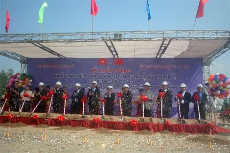 Khởi công tuyến đường sắt đô thị Cát Linh - Hà Đông - 1