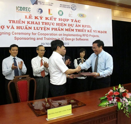 4 trường ĐH tại Hà Nội được tài trợ phần mềm thiết kế vi mạch