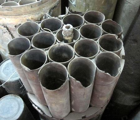 Dàn ống phóng đạn đinh Rocket