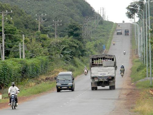 Quốc lộ 20 chạy qua tỉnh Lâm Đồng