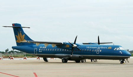 Chiếc ATR-72 của Vietnam Airlines bị rơi lốp đã được khai thác trở lại