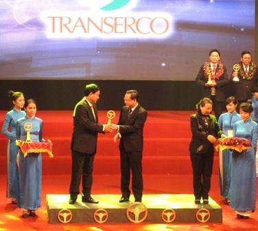 Tổng Công ty Vận tải Hà Nội được tôn vinh doanh nghiệp