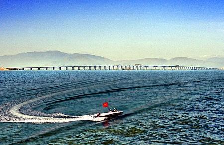 Cầu vượt đầm Thị Nại tỉnh Bình Định (ảnh minh họa)